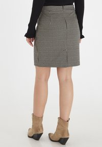 b.young - A-line skirt - black mix - 3