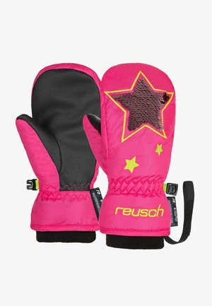 Gloves - knockout pink/safety yell