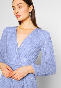Sista Glam - DAISIANNE - Společenské šaty - blue - 5