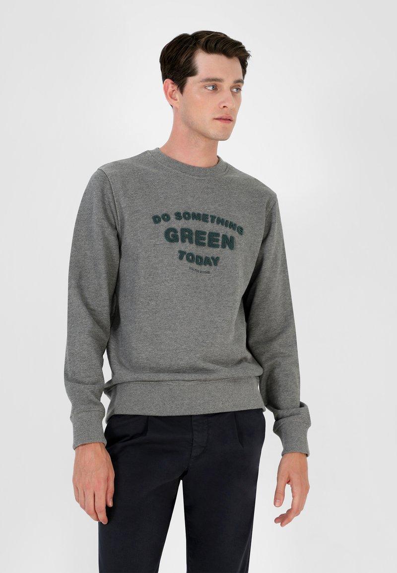 Scalpers - Sweatshirt - grey melange