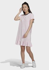 adidas Originals - Day dress - pink - 1