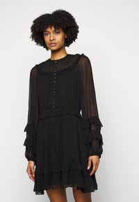 The Kooples - DRESS - Day dress - black - 0