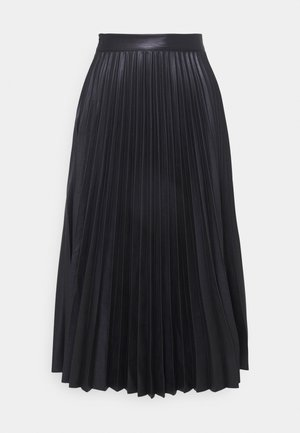 STEVIE PLEATED SKIRT - Pleated skirt - black
