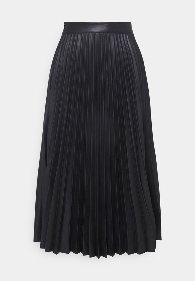 STEVIE PLEATED SKIRT - Gonna a pieghe - black