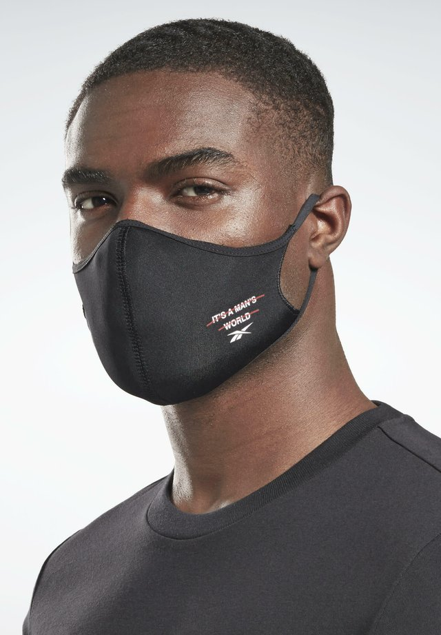 3-PACK - Stoffmaske - black
