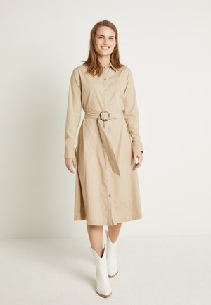 FELIXA DRESS  - Shirt dress - cement