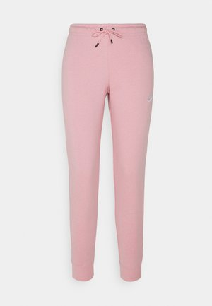 TIGHT - Teplákové kalhoty - pink glaze/white