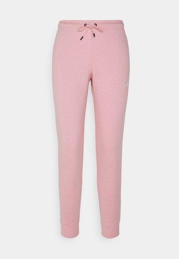 TIGHT - Tracksuit bottoms - pink glaze/white