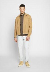 Weekday - AHMED ZIPPED - Summer jacket - beige - 1