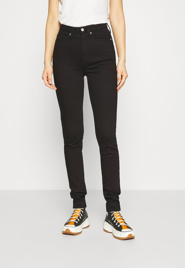 HIGH RISE  - Jeans Skinny Fit - eternal black