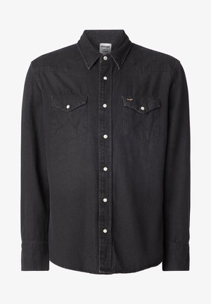 27MW - Shirt - black washed