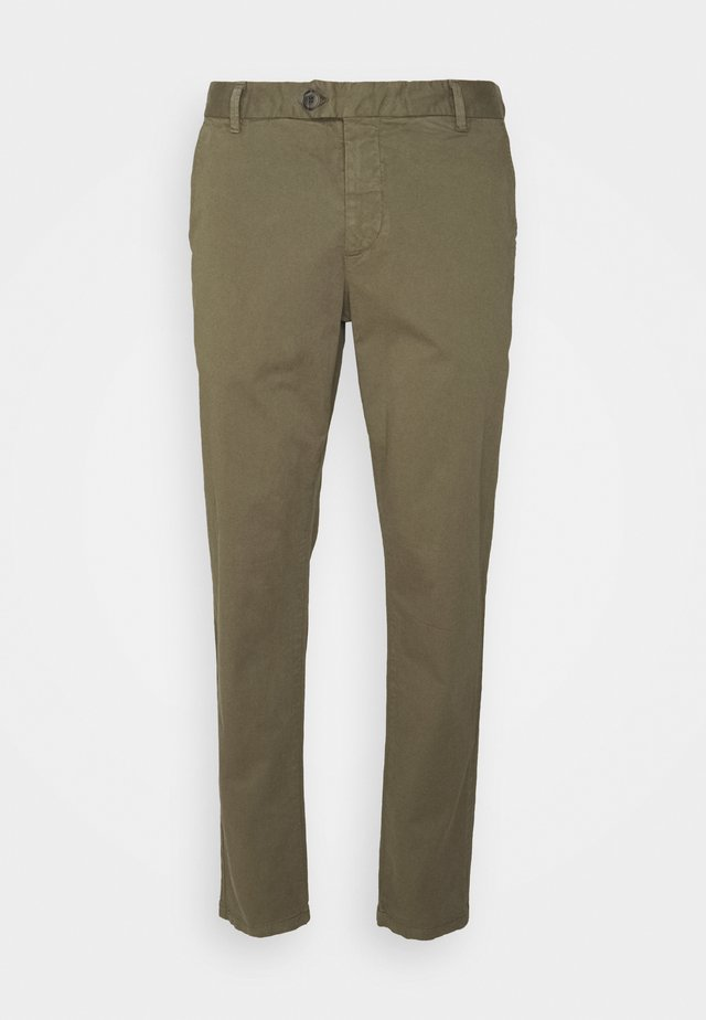 BLOCH - Trousers - army green