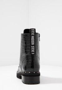 Steve Madden - TESS - Nauhalliset nilkkurit - black - 5