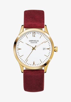 Horloge - red