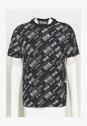 WARRANTY REPEAT - T-shirt z nadrukiem - nero