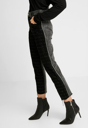 GITTE NEW - Trousers - black