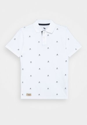 DYE EFFECT - Polo shirt - white