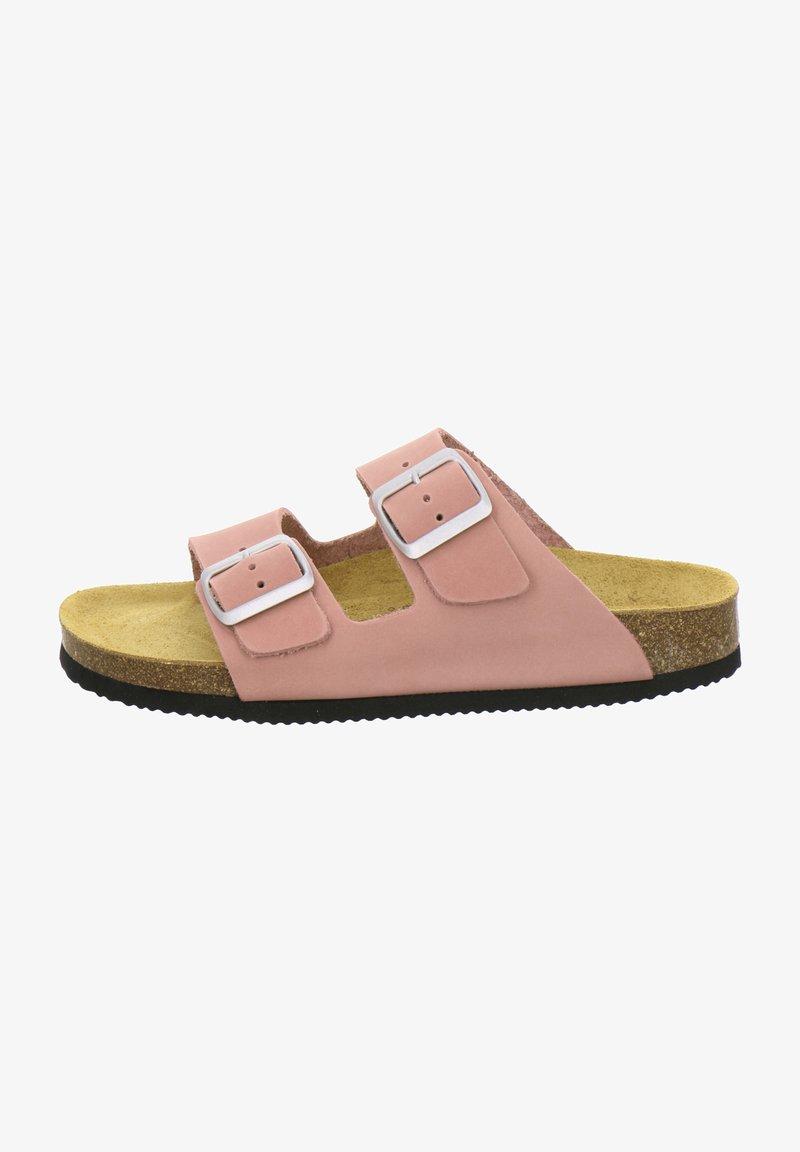AFS Schuhe - ZWEISCHNALLER - Slippers - rosato