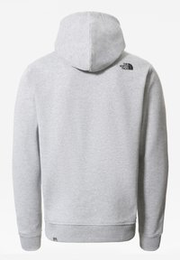 The North Face - M SHOULDER BOX HD - Sweatshirt - tnflightgreyhthr/tnfblack - 1