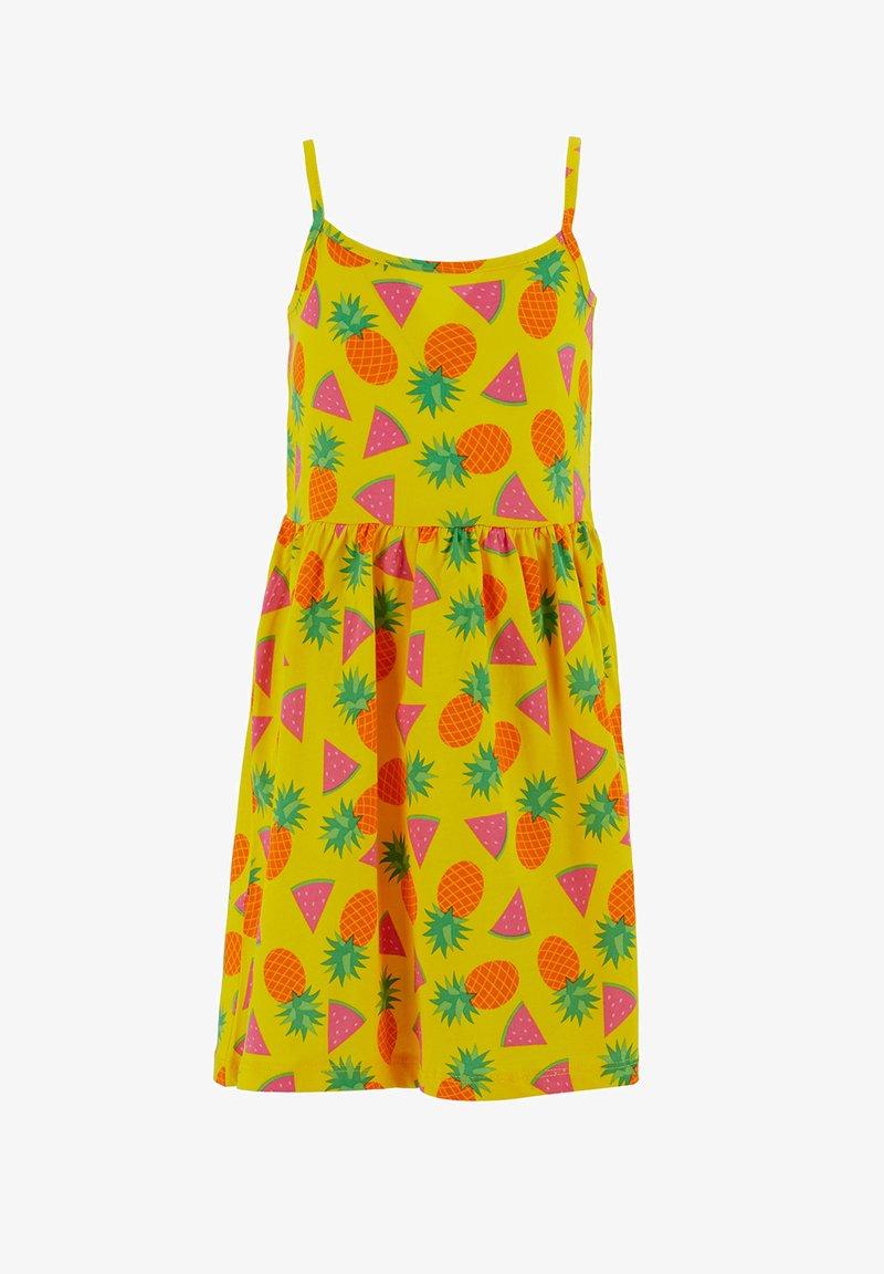 DeFacto - SUMMER - Jersey dress - yellow