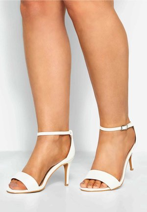 LIMITED COLLECTION STRAPPY  IN EXTRA WIDE FIT - High heeled sandals - white