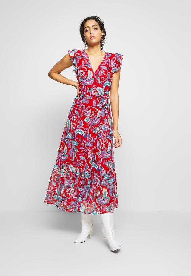 MIREN - Długa sukienka - red