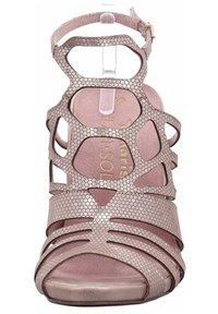 Tamaris - High heeled sandals - gold - 4