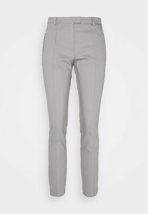 ORGANIC ZIP POCKET PANTS - Trousers - new grey