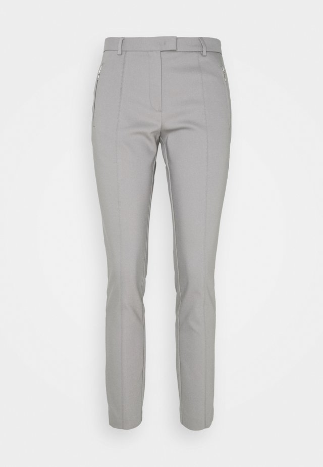 ORGANIC ZIP POCKET PANTS - Pantaloni - new grey