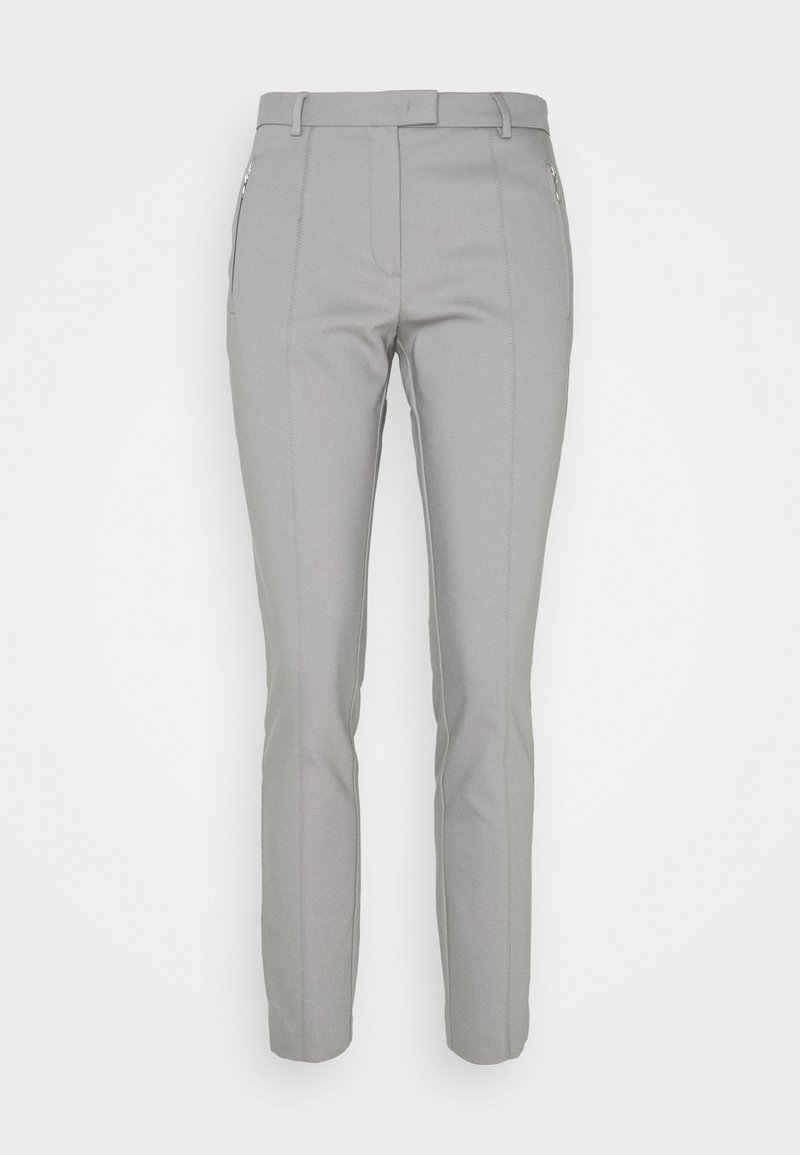 More & More - ORGANIC ZIP POCKET PANTS - Broek - new grey