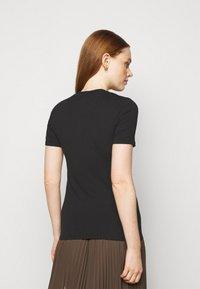 Patrizia Pepe - MAGLIA - T-shirt basique - nero - 2