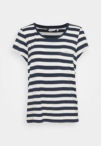 Nümph - BOWIE  - Print T-shirt - dark sapphire - 0