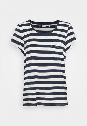 BOWIE  - Print T-shirt - dark sapphire