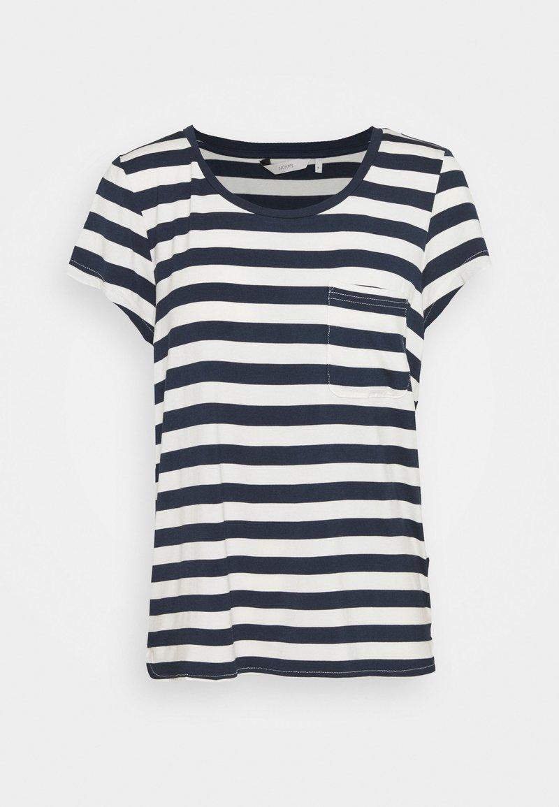 Nümph - BOWIE  - Print T-shirt - dark sapphire
