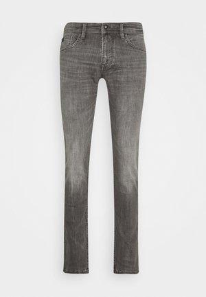 STRAIGHT AEDAN STRETCH - Jeans straight leg - used mid stone grey denim