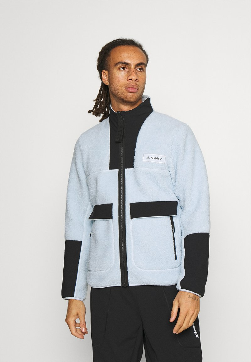 adidas Performance - TERREX SHERPA  - Fleece jacket - halo blue/black