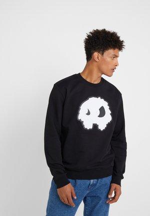 BIG CREW NECK - Sweatshirt - darkest black