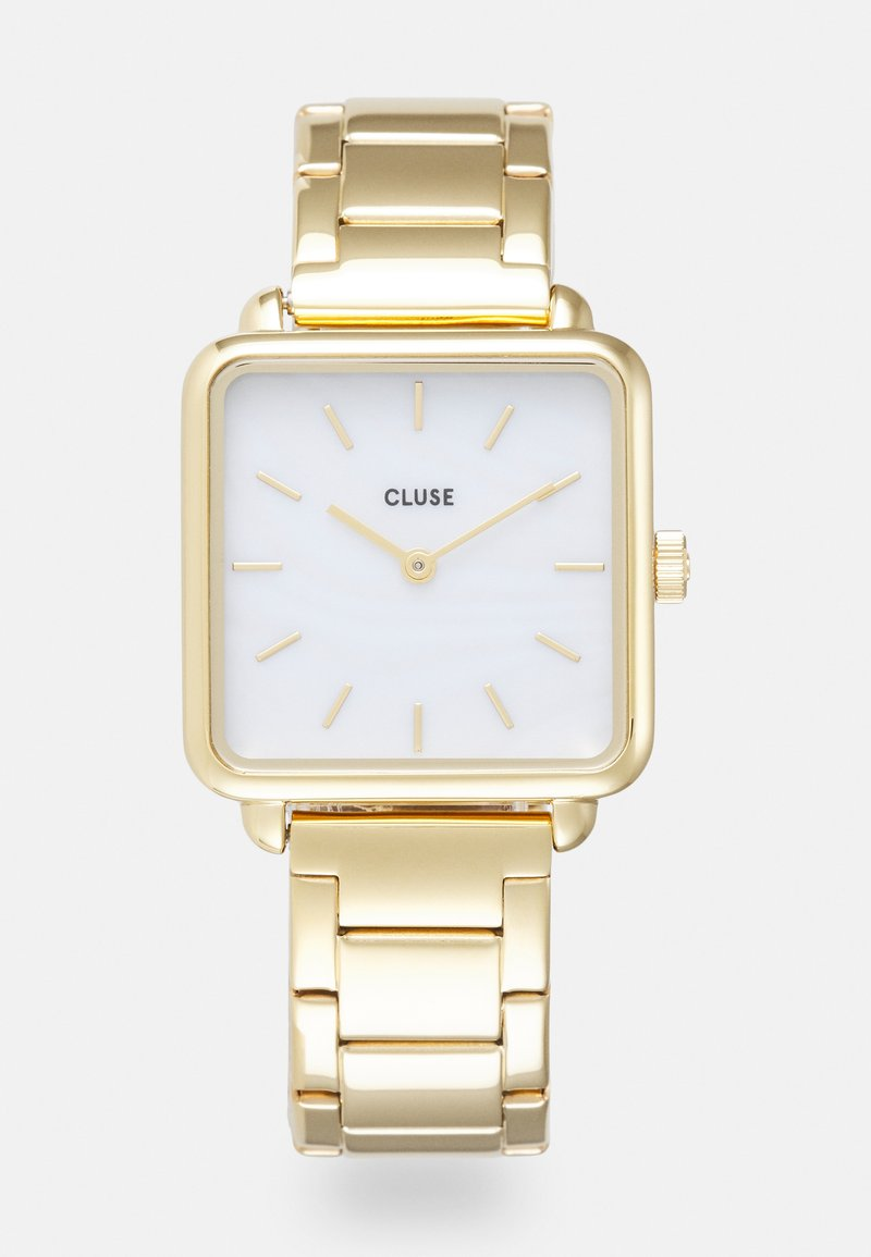 Cluse - LA TETRAGONE LINK - Watch - gold-coloured