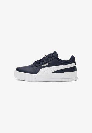 CARINA L  - Sneakers laag - peacoat-puma white