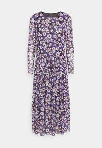 Soaked in Luxury - Day dress - dazzling blue flower - 0