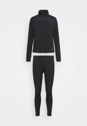 ACTIVE YOGINI SUIT SET - Tracksuit - puma black