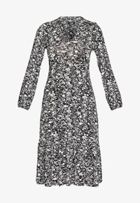 Wallis - MONO PAISLEY TIERED MIDI DRESS - Sukienka z dżerseju - mono - 4