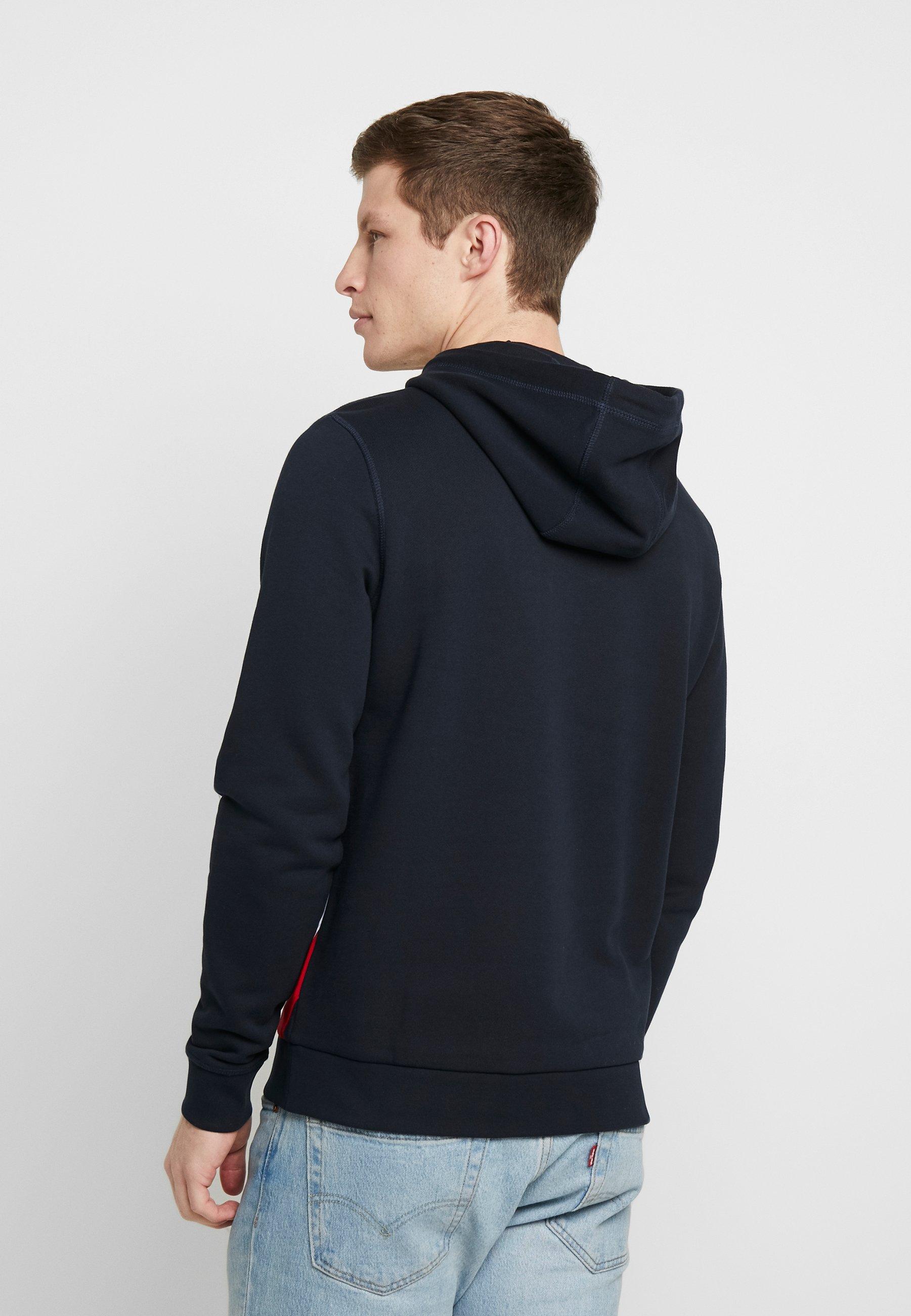 Nike Sportswear HOODIE AIR - Luvtröja - grey heather/white/mörkgråmelerad - Herr Vinterkläder W6z7Z