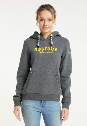 ROSTOCK - Hoodie - grau melange