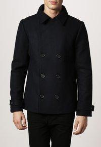 Pier One - Krátký kabát - navy - 1