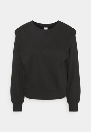 JDYLENKA IVY LIFE SHOULDER - Sweatshirt - black