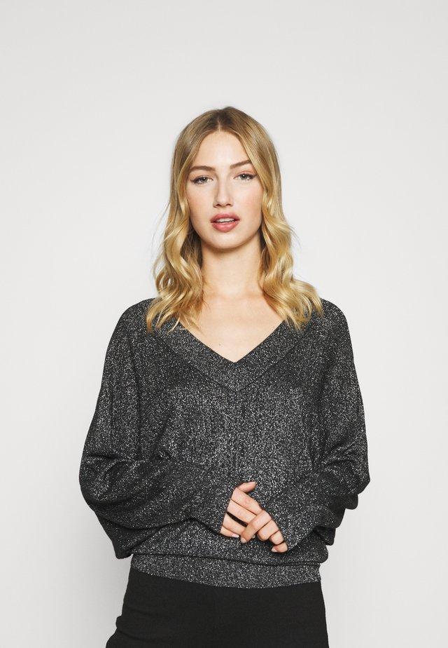 MADINA JUMPER - Sweter - schwarz