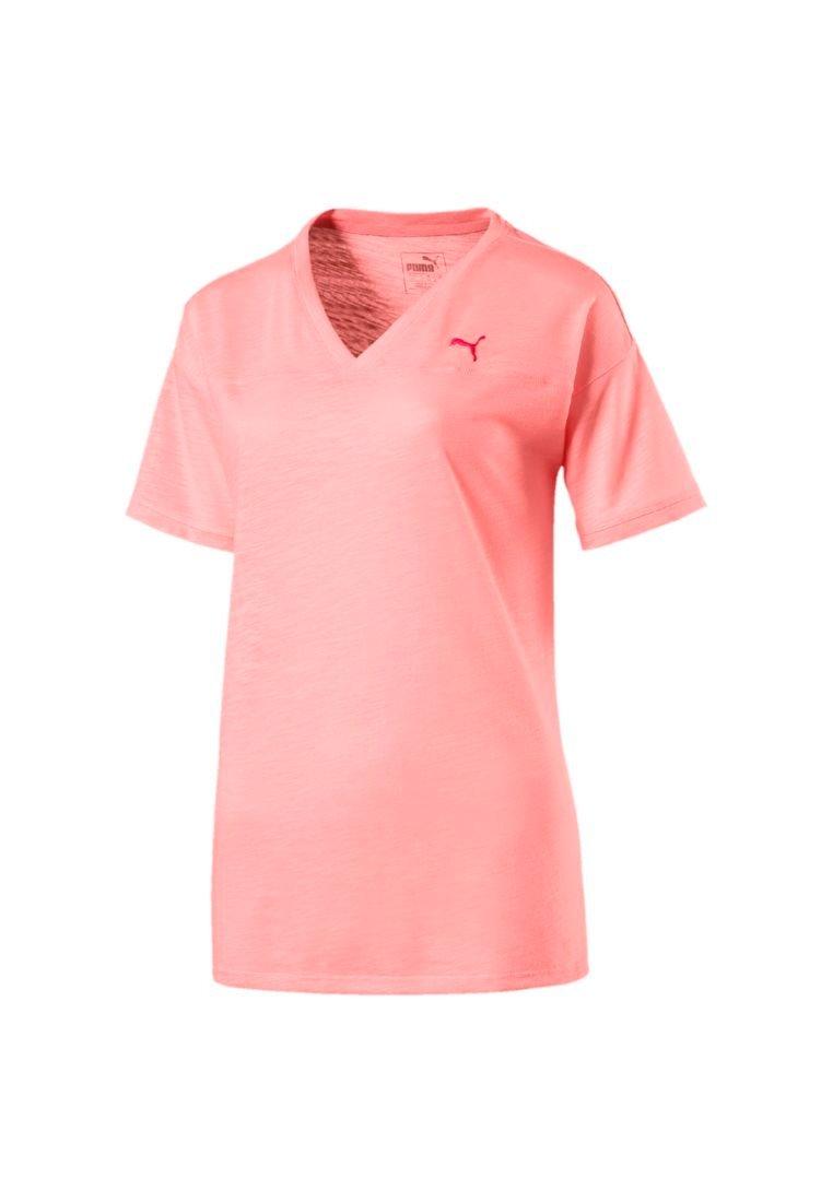 Damen BOYFRIEND - T-Shirt basic - soft fluo peach