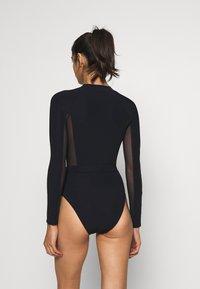 JETS BY JESSIKA ALLEN - SURF SUIT - Swimsuit - black - 2