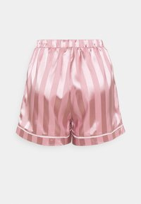 Missguided - STRIPED SHIRT AND SHORTS - Pyjamas - pink - 4